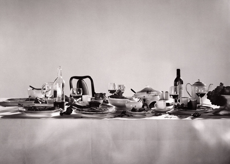 sumptuous: Remnants of a sumptuous dinner party