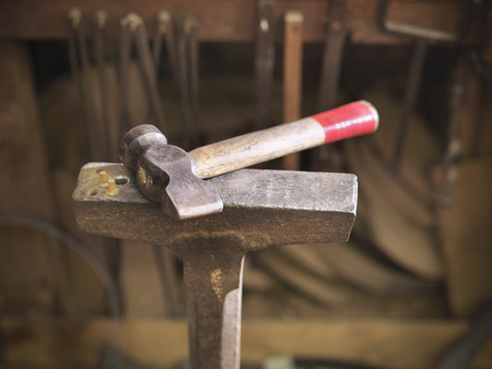 makes: Hammer in cooperage