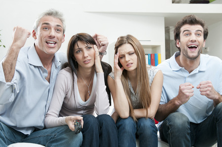 women's issues: Excitement and boredom at TV