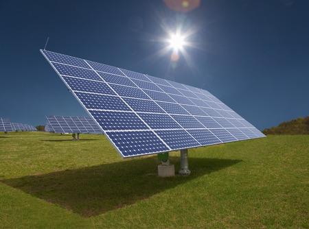 futures: Solar panels in field