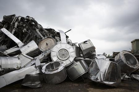 scrapyard: Metal for recycling