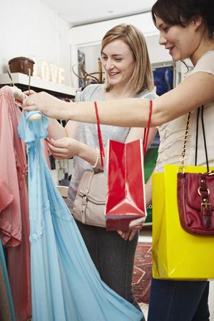 resolving: Two Women Shopping