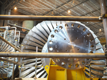 Turbine in power station LANG_EVOIMAGES