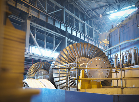Turbines in power station LANG_EVOIMAGES