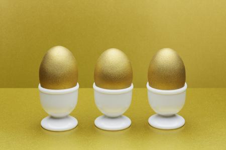 futures: Golden eggs in egg cups