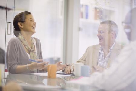 meets: Business people talking in meeting