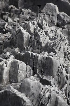 grays: Close up of jagged rocks