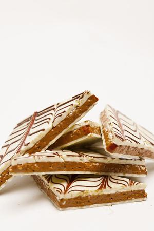 Close up of handmade chocolate