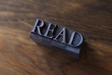 teaches: Lead type spelling read