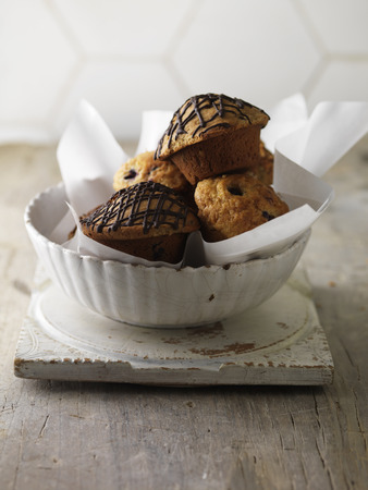 tempted: Bowl of various muffins