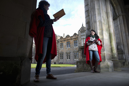 capes: University students in traditional capes