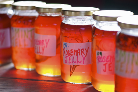 uncomplicated: Jars of homemade preserves LANG_EVOIMAGES