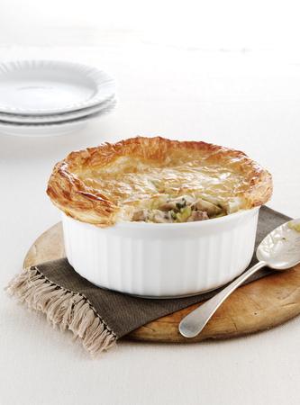 omnivore: Dish of baked chicken pie