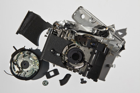 ravage: Pile of smashed camera parts LANG_EVOIMAGES