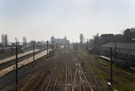 intersects: Haydarpasa train station, Istanbul, Turkey LANG_EVOIMAGES