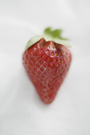 uncomplicated: Close up of strawberry