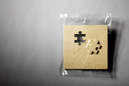 carryall: Jigsaw puzzle shrink wrapped in plastic LANG_EVOIMAGES