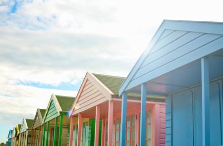 Beach huts,Southwold,Suffolk,UK