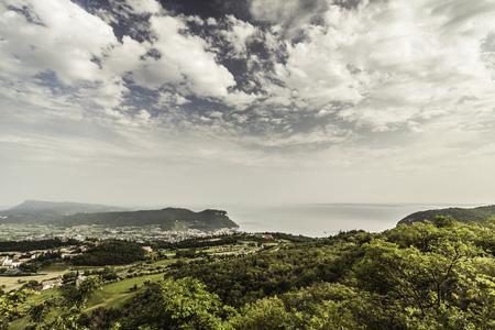 mountainous: Clouds over rural landscape LANG_EVOIMAGES