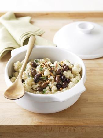 Bowl of cauliflower salad