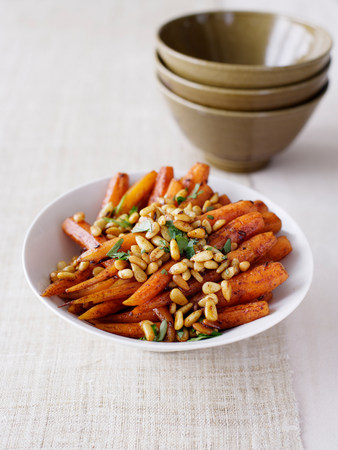 midday: Moroccan carrots