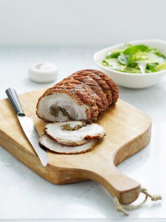 Roast pork loin LANG_EVOIMAGES