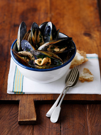 generosa: Bowl of peppered mussels