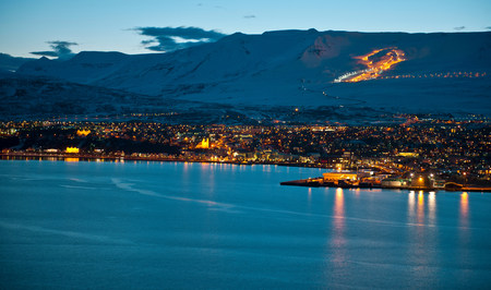 northern light: Akureyri,Iceland LANG_EVOIMAGES