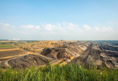 Opencast brown coal mine,Juchen,Germany LANG_EVOIMAGES