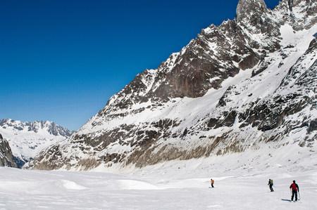 La Vallee Blanche,Chamonix,France LANG_EVOIMAGES