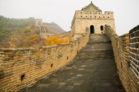 mutianyu: Mutianyu section of the great wall of china