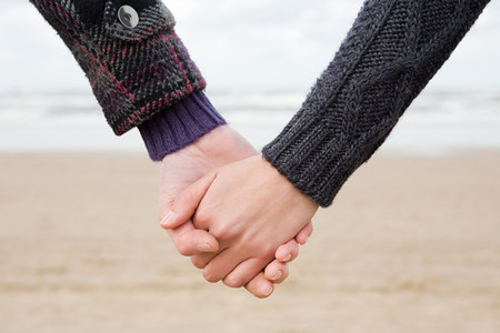 relaciones sexuales: Holding hands