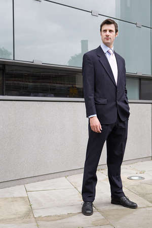 ponderous: Young businessman