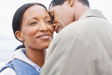 afro caribbean ethnicity: Loving couple LANG_EVOIMAGES