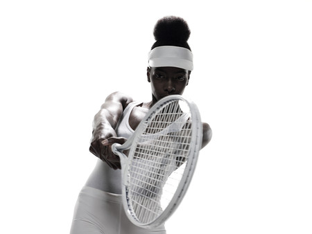25 29 years: A female tennis player LANG_EVOIMAGES