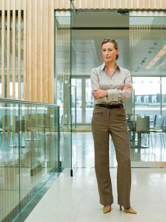 authoritative woman: Businesswoman