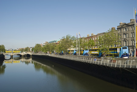 northern european: River liffey dublin