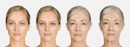 age 25 30 years: Woman aging
