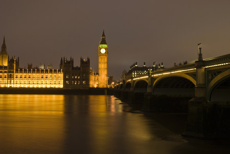 mirroring: Houses of parliament london