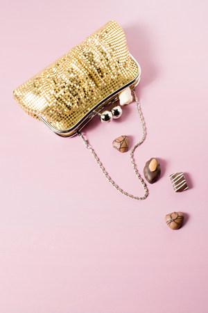 Chocolates in a handbag