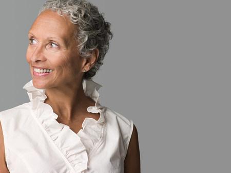 60 64 years: Woman looking away