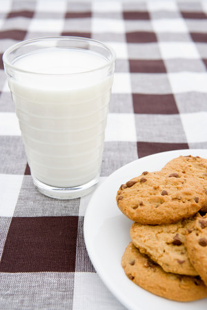 unfit: Cookies and milk