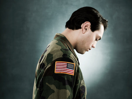 look latino: Profile of a soldier