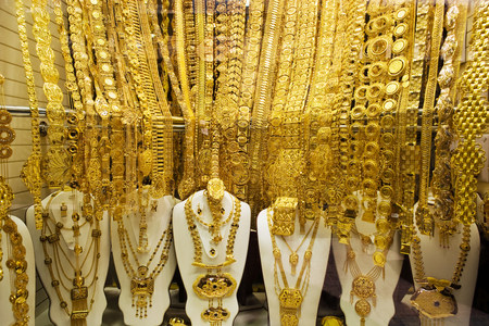 gold souk: Jewellery in gold souk