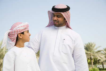 25 29 years: A portrait of a father and son
