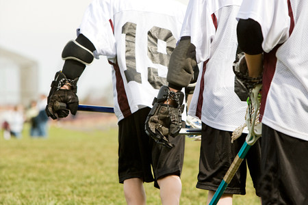 Lacrosse players LANG_EVOIMAGES