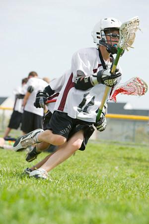 organised: Junior lacrosse players