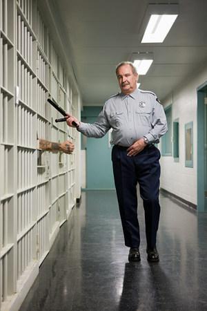 corridors: Prison guard