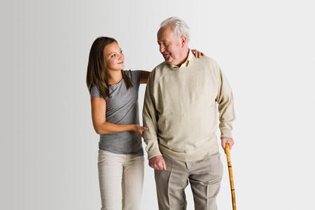 granddad: Girl and granddad