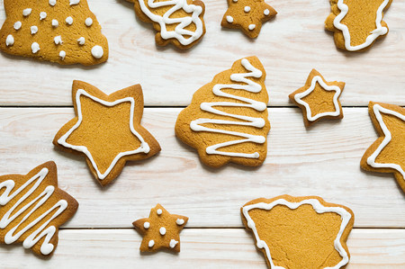cropped shot: Christmas cookies